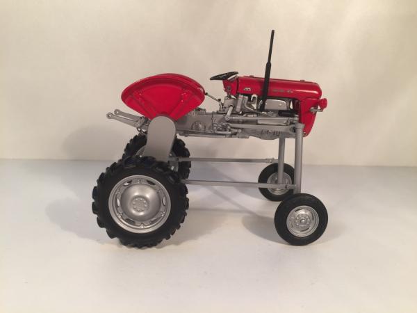 tracteur enjambeur massey-ferguson