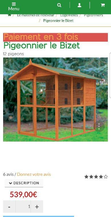 Pigeonnier à vendre