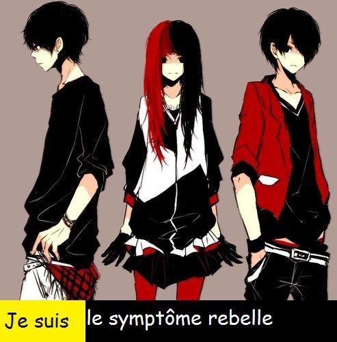 Je suis le symptôme rebelle