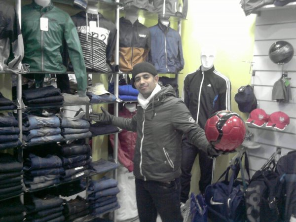 me at my friend store