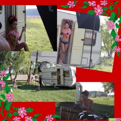 Voici un montage que j'ai fait sur Inna à la campagne !!!!!Elle est magnifique même en pleine nature !!!!