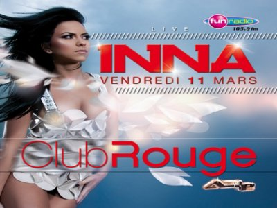 Inna en live au club rouge !!!!!!!
