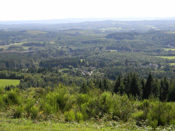 En passant par la Corrèze ...