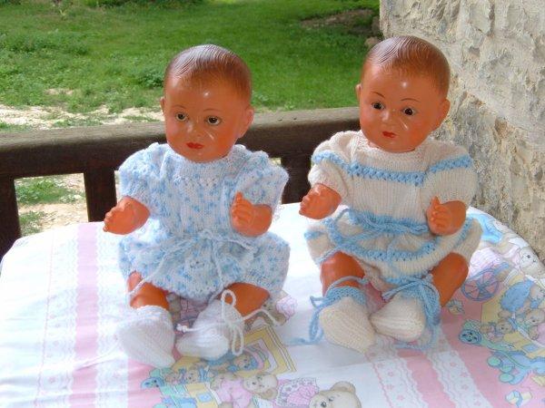 Les jumeaux Edouard et Tom