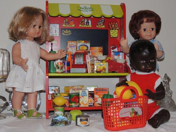 Nick et Jean Michel à l'épicerie