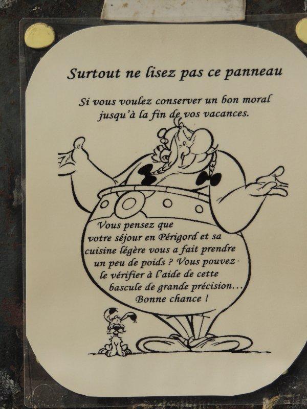 Un peu d'humour en direct du Périgord !