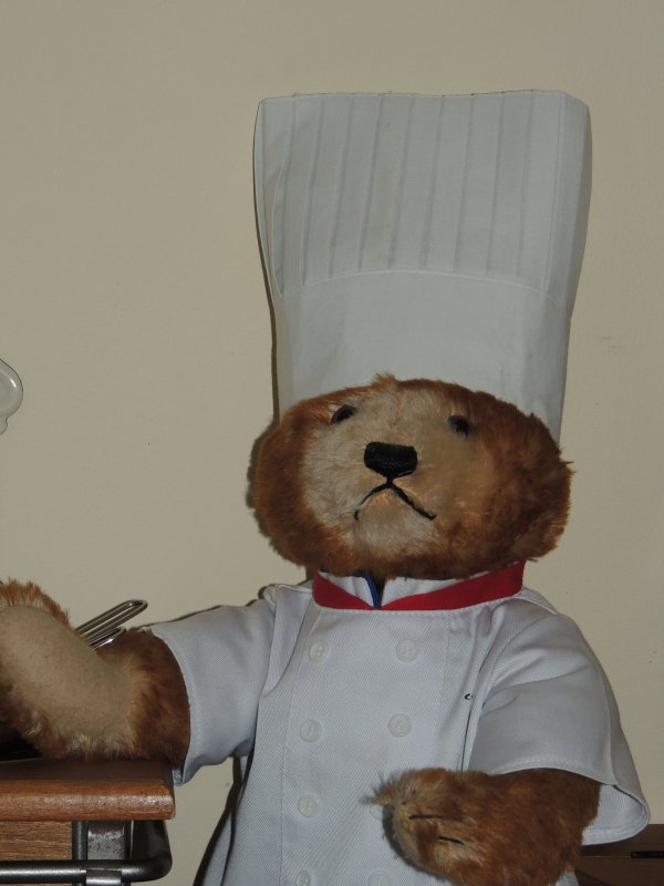 Notre chef cuisinier ....