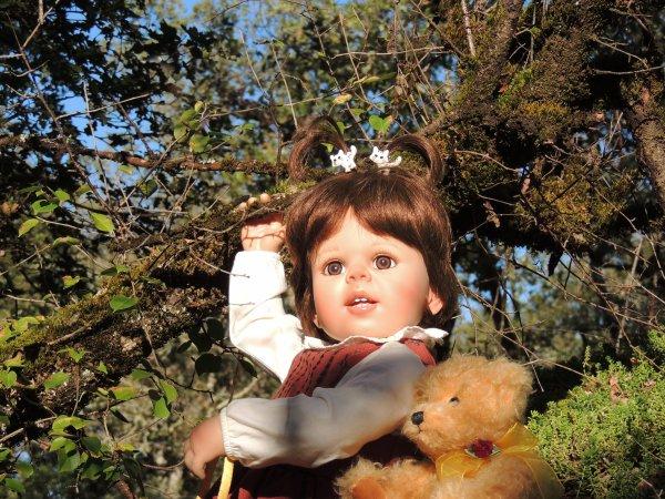 Marie Cécile aussi apprécie le beau soleil