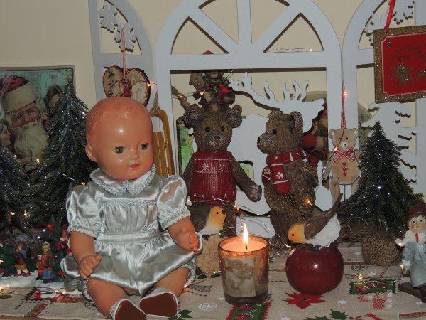 Dans les décors de Noël ...