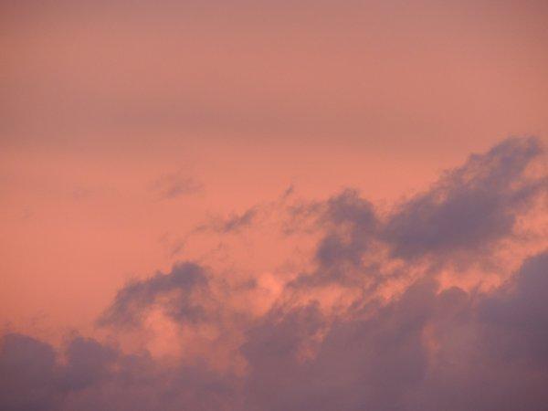 La couleur du ciel ce soir ....