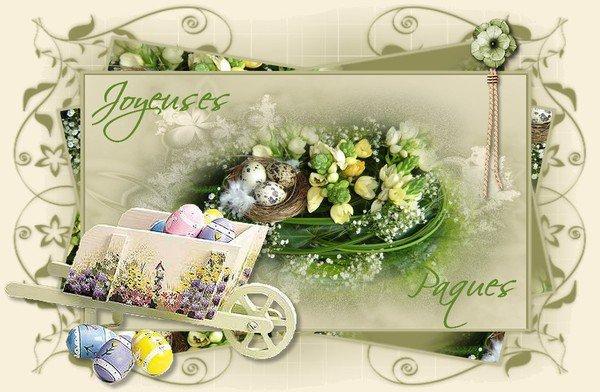 Bonne fête de Pâques à vous toutes et tous !