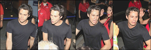 """. """"22/07/17"""" ▬ Dylan et le cast de Teen Wolf ont accepté le prix Fandom Icon aux MTV Fandom Fest, San Diego. Un peu plus tard dans la soirée, notre jeune acteur a été aperçu à la sortie des MTV Fandom Fest. Dylan a pris le temps de poser avec les fans. ."""