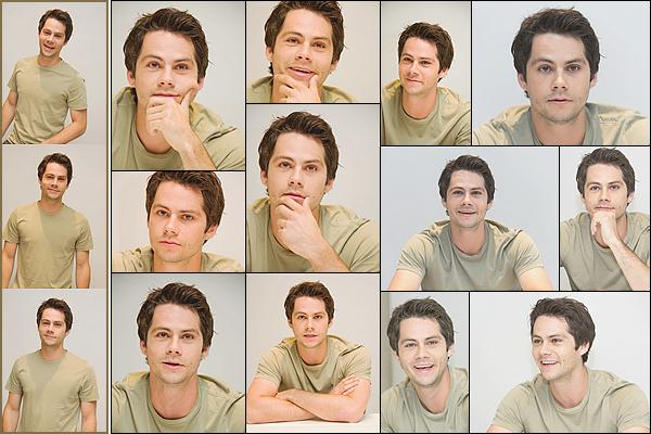 """. """"24/07/17"""" ▬ Dylan était présent à la conférence de presse pour son film American Assassin, à Beverly Hills. Ces photos marquent le début de la promotion pour le film qui est sorti en septembre. Naturel et simple, Dylan est très charmant sur les photos. ."""