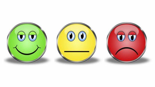 Smileys émotions
