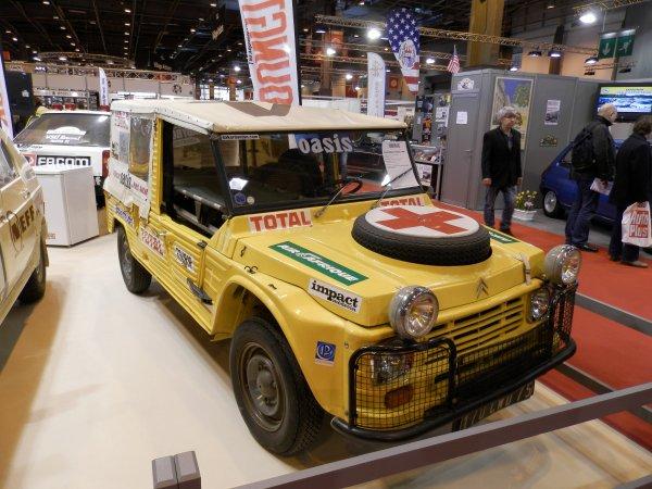 Voitures Dakar ( retromobile)