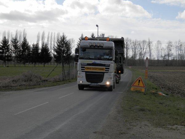 convoi acheminent un EFA a la Chausée sur Marne(51)