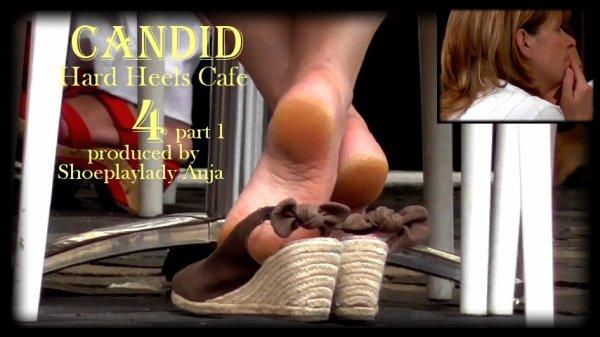 candid hard heels cafe 4 part 1