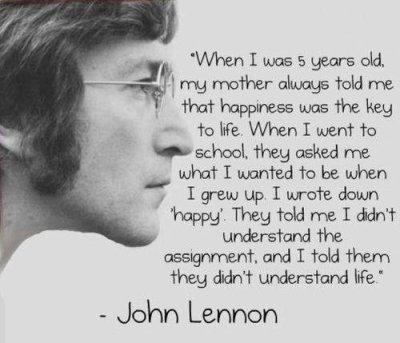 John Lennon , la voix de la raison *-*