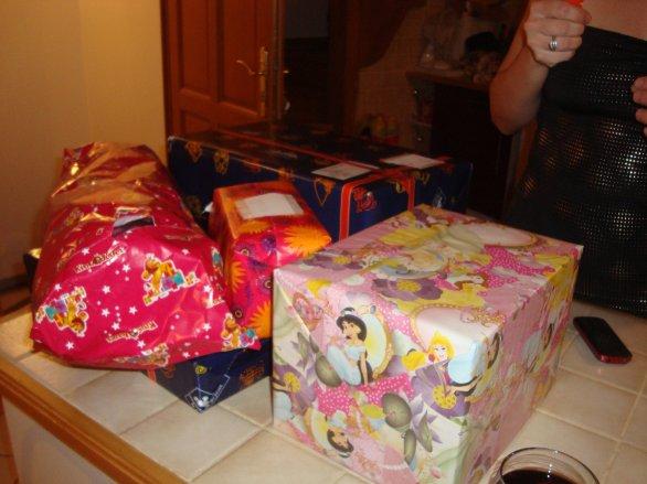 les cadeaux de ma fille