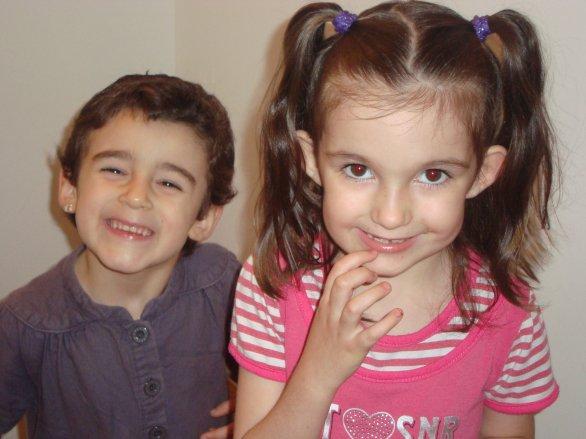 ma fille et ma niece