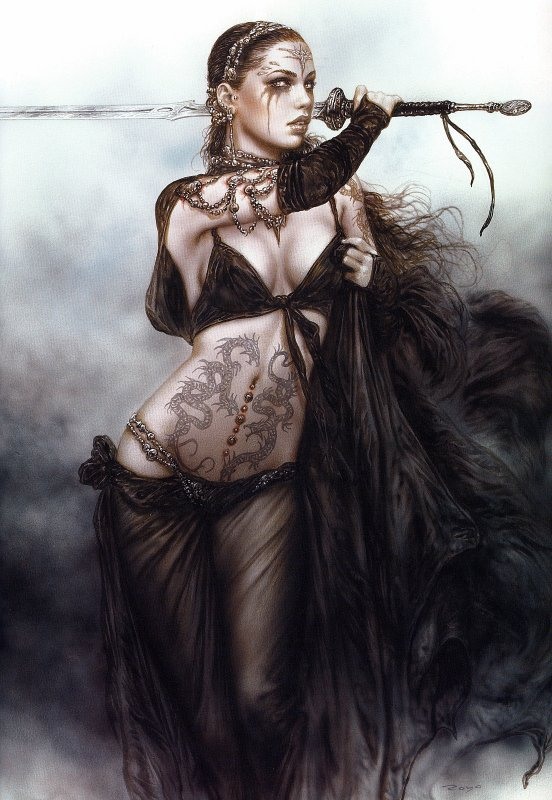 Luis Royo - Subversive beauty - Circes thread