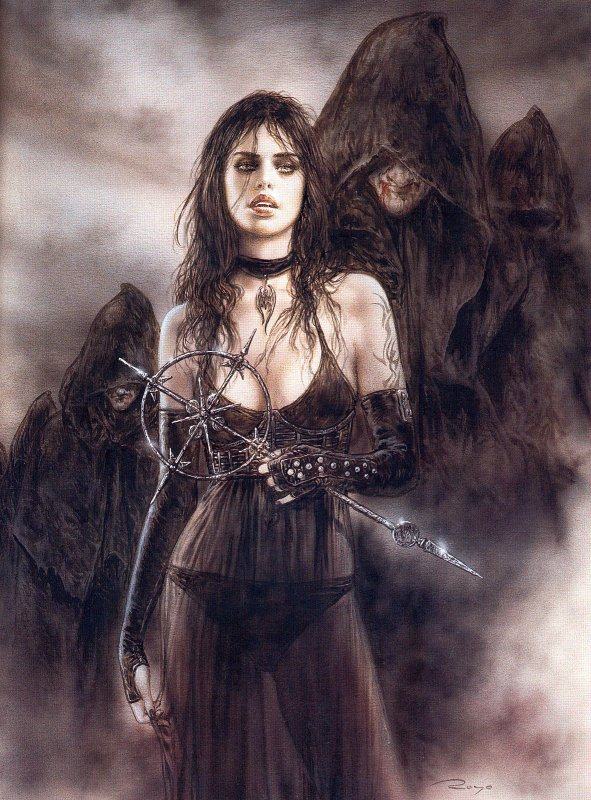 Luis Royo - Dark labyrinth - Dark-2006
