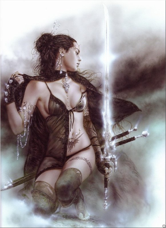 Luis Royo - Subversive beauty - The touch of ice