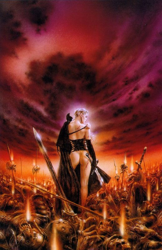 Luis Royo - Malefic - The seeds of nothing