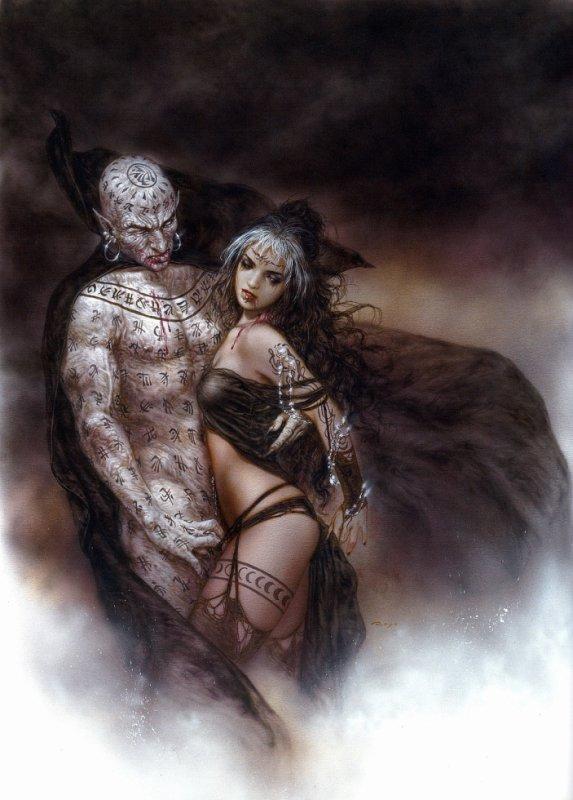 Luis Royo - Subversive beauty - Nosferatus kiss