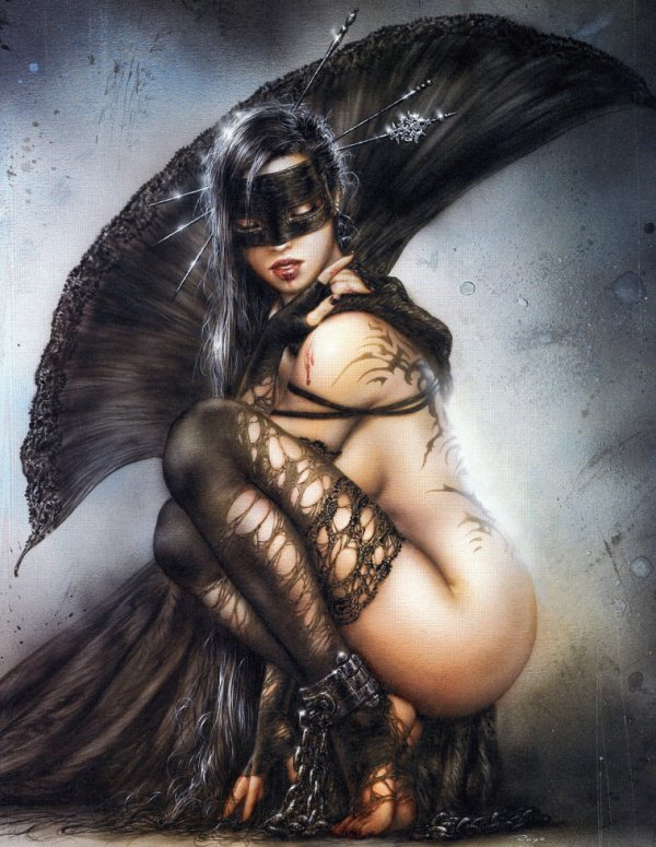 Luis Royo - Dark labyrinth - The needles of joy