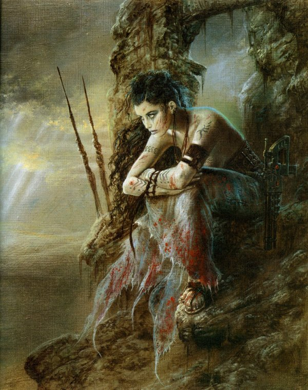 Luis Royo - III millennium - the wait - 1