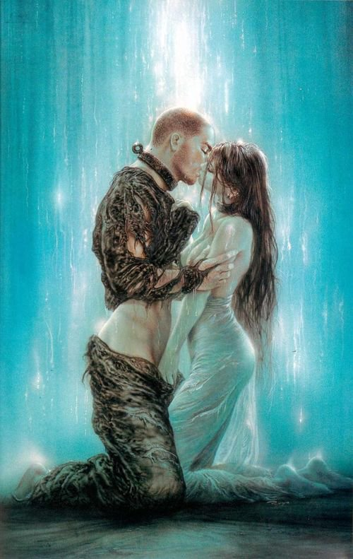 Luis Royo - Dark labyrinth - Caress