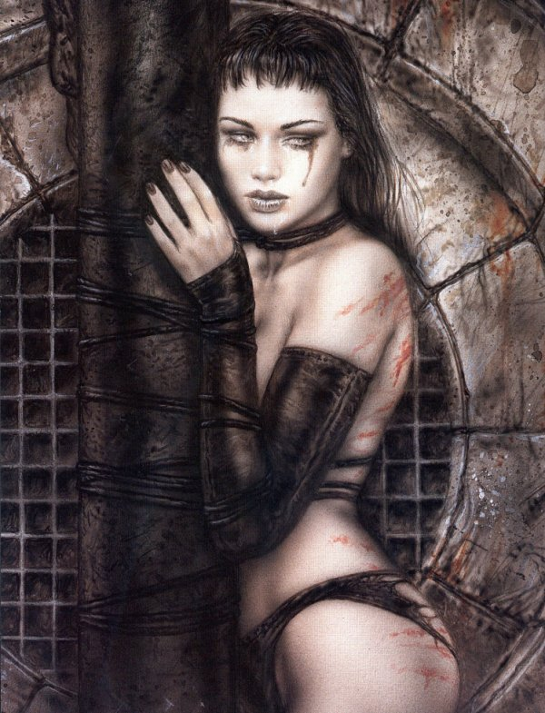 Luis Royo - Dark labyrinth - Conscience basement