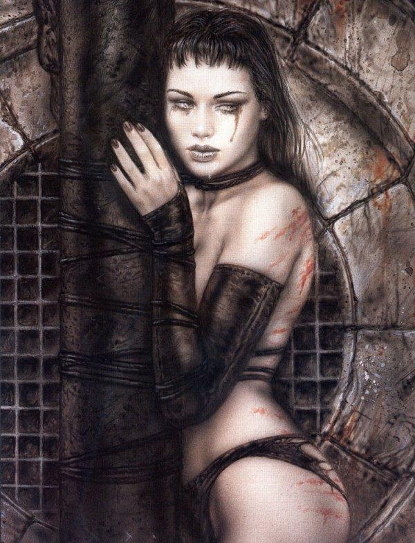 Luis Royo - Dark labyrinth - Conscience basement