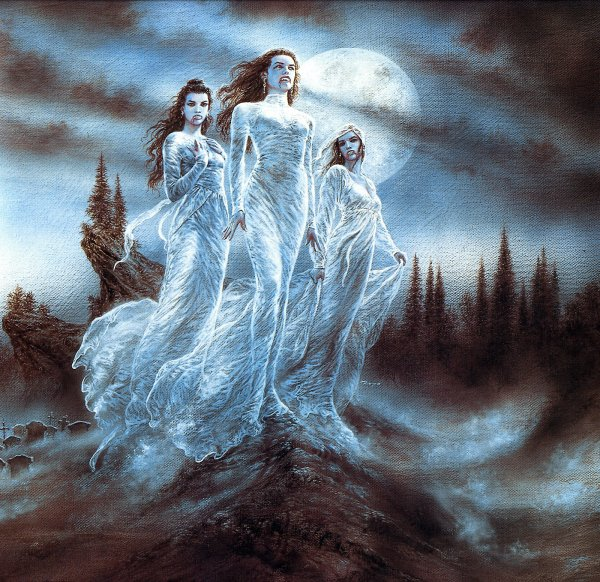 Luis Royo - Evolution - The vampire sextette 2