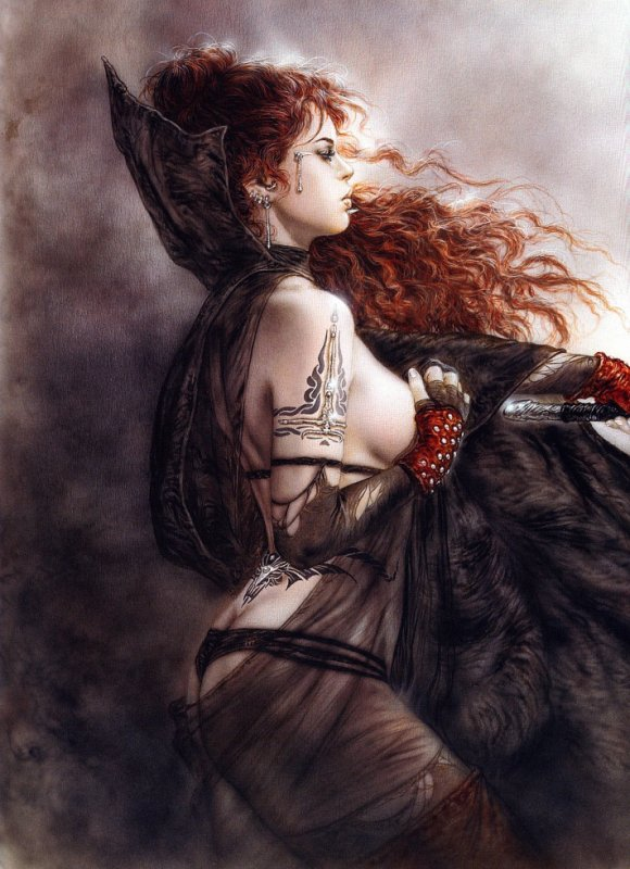 Luis Royo - Subversive beauty - The five faces of hecate 2