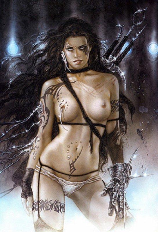 Luis Royo - Subversive beauty - The danger of pain 2
