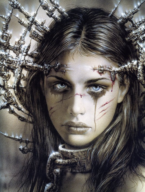 Luis Royo - Fantastic art - The announcement