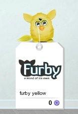 Furby jaune ♥