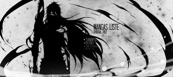 Liste Mangas