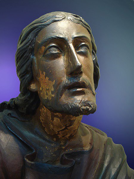 Christ sculpté du Brésil (Porto Allegre)