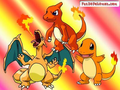 Les 3 volution de salameche pokemon - Pokemon evolution salameche ...