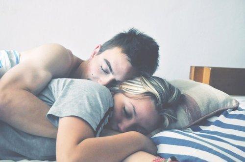 Tout ce dont j'ai besoin pour être heureuse, c'est toi.