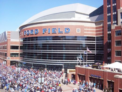 Ford Field, Lions Stadium