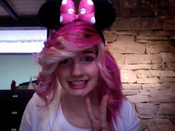 J'ai choisis, ma vie est Pinkie.