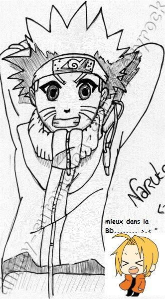 Naruto mal fait x)