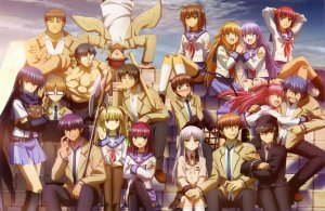 Angel Beats (5 volumes...)