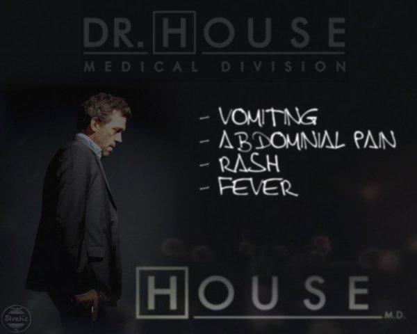 """Série TV """"Dr House"""""""