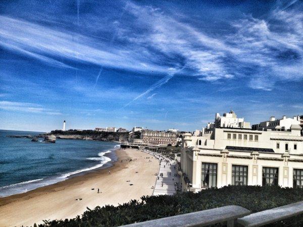 Biarritz ;) une ville  très agréable pour nos yeux