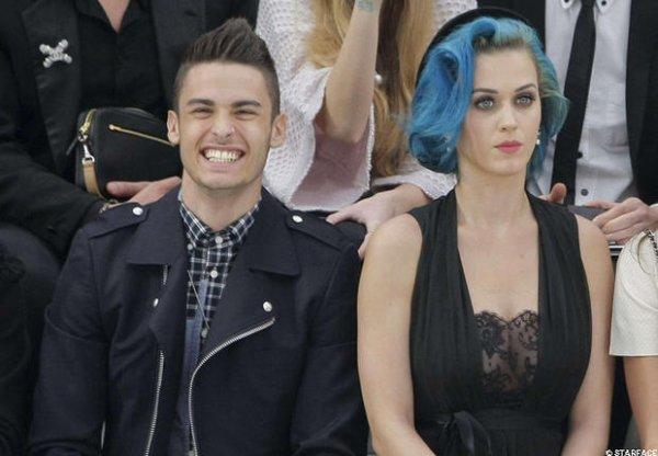 Katy Perry et Baptiste Giabiconi